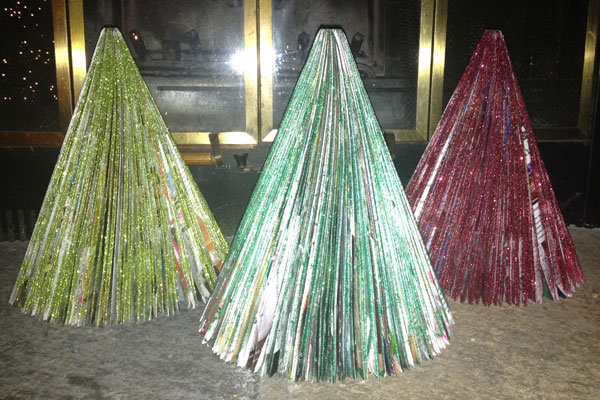Glitter Magazine Trees