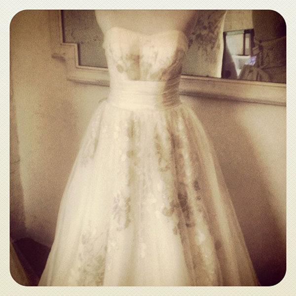 New york bridal runway shows 10 9 recap bridalguide for Melissa sweet short wedding dress