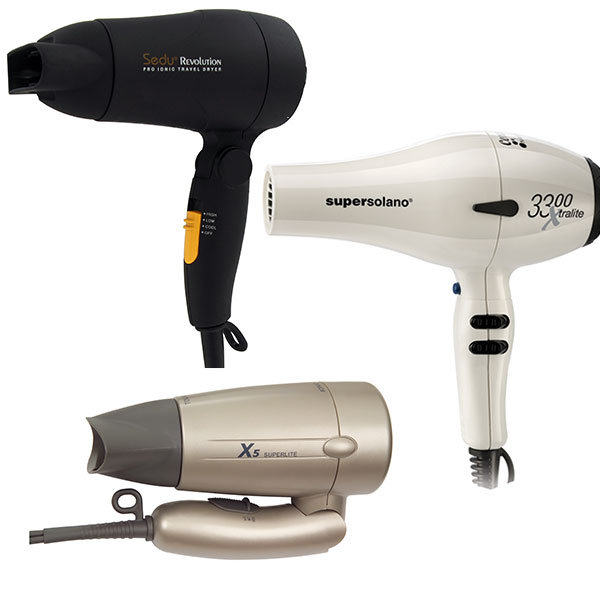 Hair Care: Travel Dryers