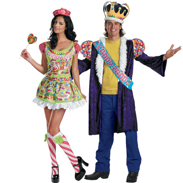 King and Queen of Candyland