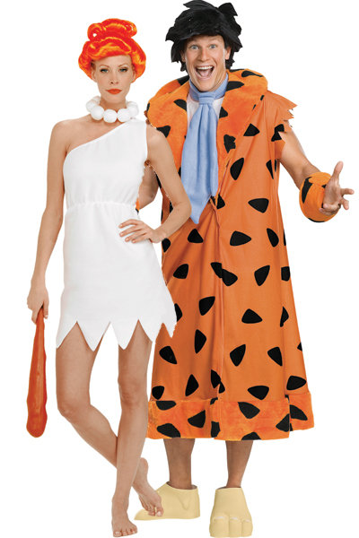 Wilma and Fred Flintstone