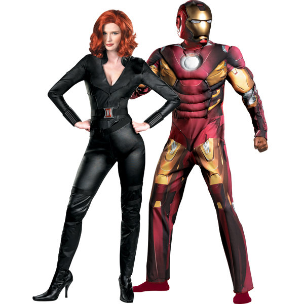 Black Widow and Iron Man