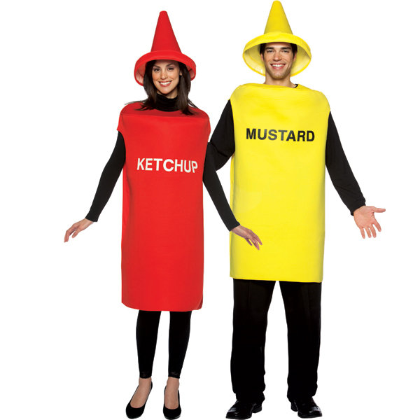 Ketchup and Mustard