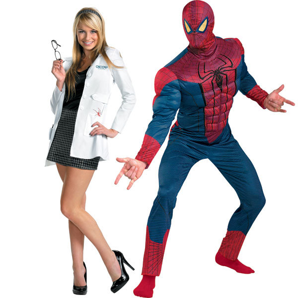 Spiderman And Mary Jane Halloween Costume