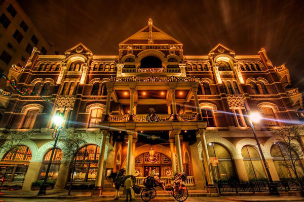 The Driskill Hotel in Austin, TX