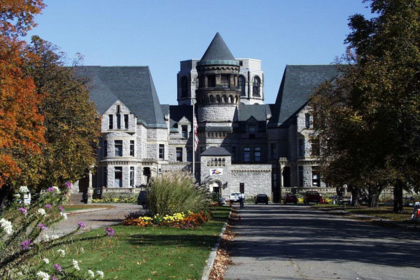 Ohio State Reformatory Prison in Mansfield, OH