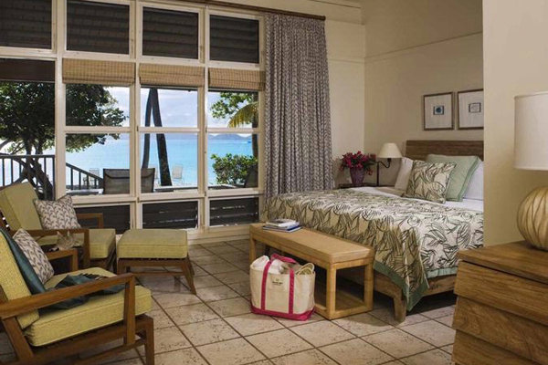 Premium Ocean View Room at Caneel Bay, a Rosewood Resort, in St. John, U.S.V.I.