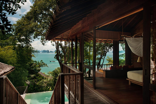 Ocean Pool Villa at Six Senses Yao Noi Beyond Phuket in Thailand