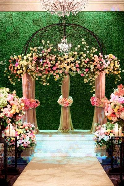 The most popular wedding photos bridalguide for Indoor gardening diana yakeley