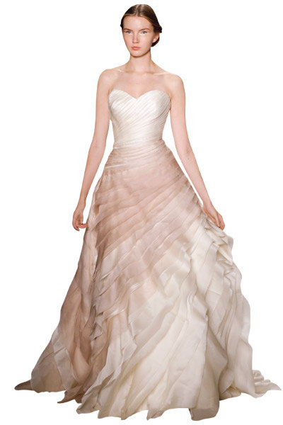 Inspiration: Modern Neutral Wedding Gown