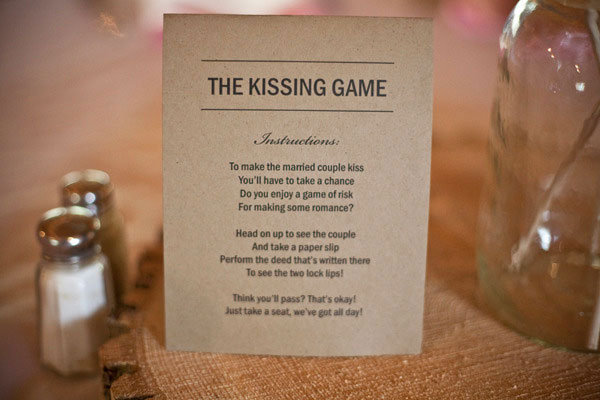 Group Games: The Kissing Game