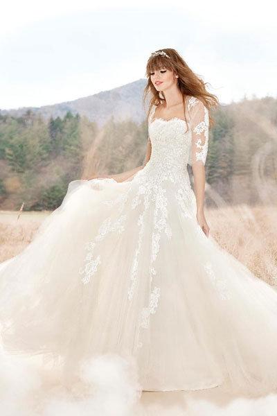 St. Patrick Lace Gown