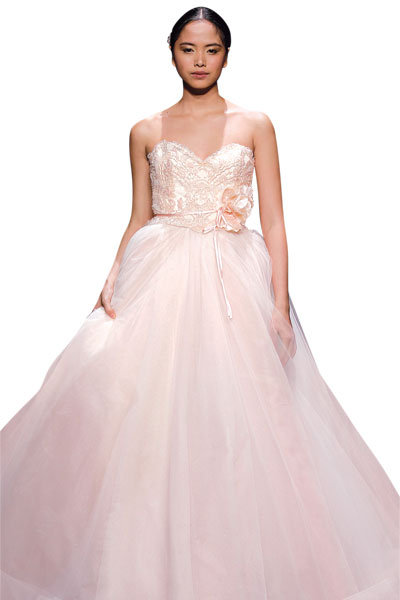 Gown by Lazaro