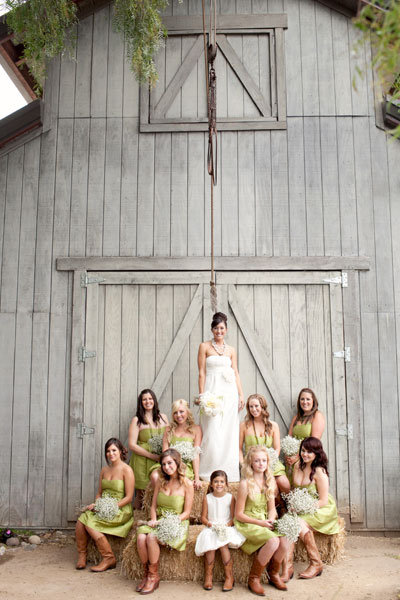 8. Wedding Party Pyramid