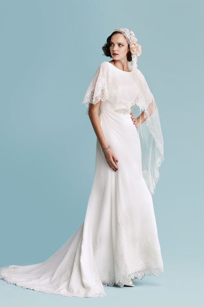 Trend we love vintage inspired dresses bridalguide for Wedding dress 30s style
