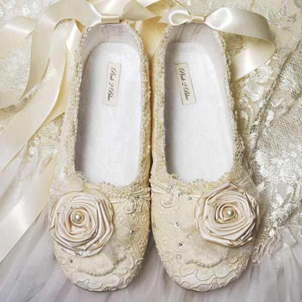 Wedding Dresses With Flats : Wedding worthy flats bridalguide