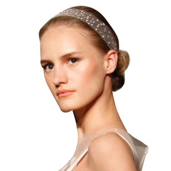Jeweled Tulle Headband