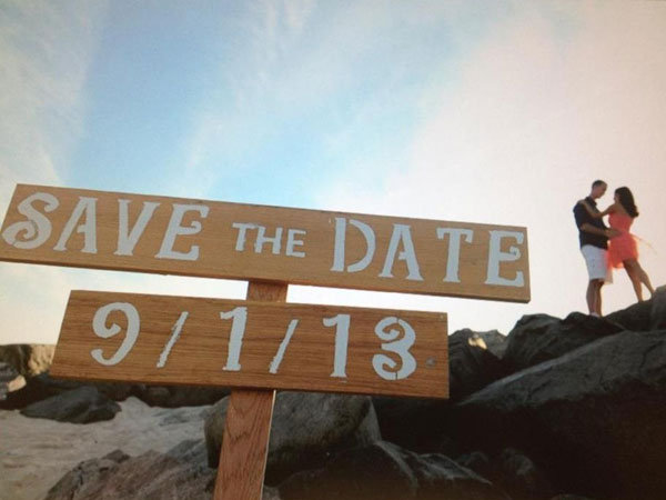 Intermediate: Save the Date Sign
