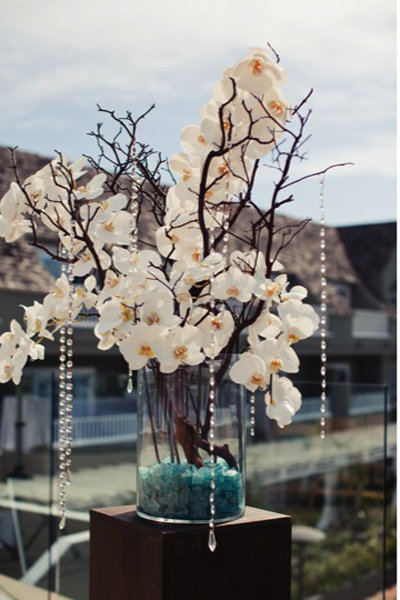 Impressive non traditional centerpieces bridalguide