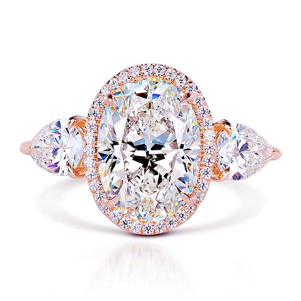 Ornate Halo Ring