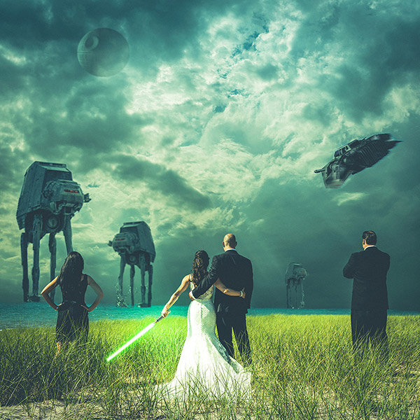20 Wedding Ideas For Star Wars Super Fans Bridalguide