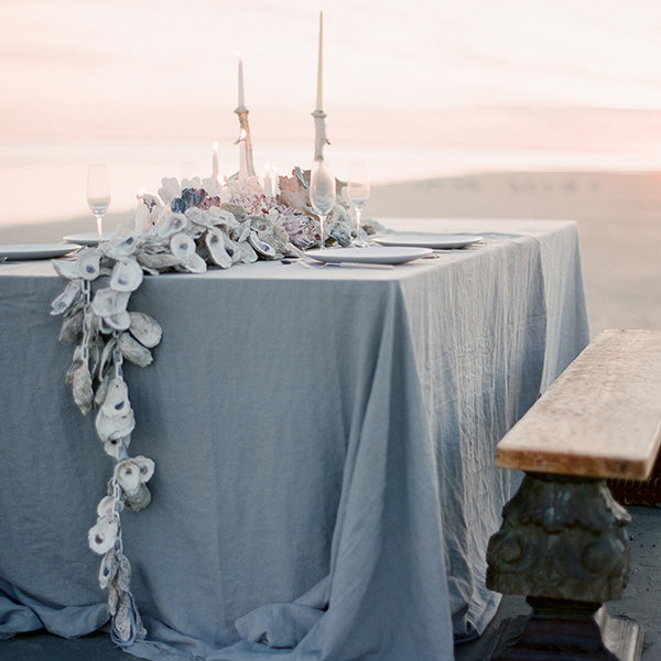 25 diy wedding centerpieces that dont look homemade bridalguide table runner junglespirit Images
