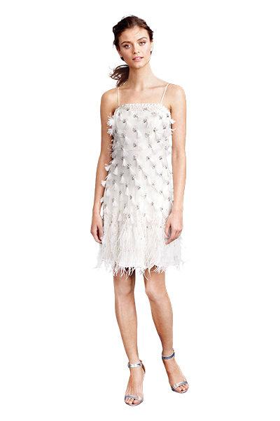 Stylish short wedding dresses you 39 ll love bridalguide for J crew short wedding dresses