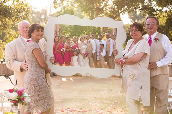 Parents and Bridal Party Photo Frame