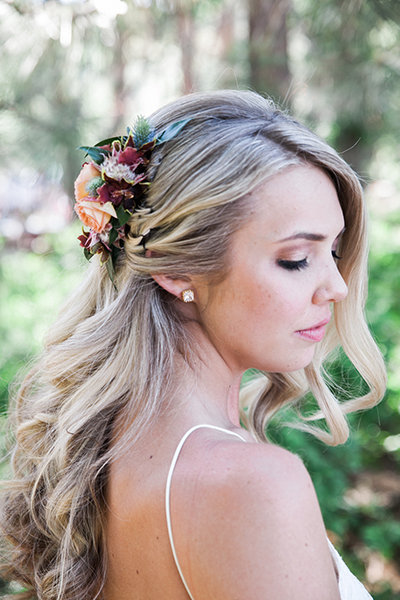 stunning hair accessories from real weddings bridalguide