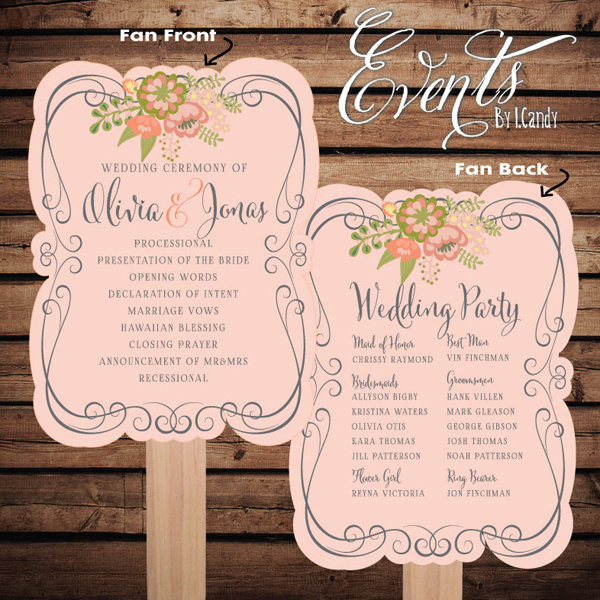 50 Unforgettable Ideas For Your Wedding Programs