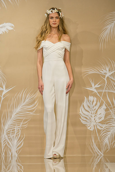 3dab885dd 35 Gorgeous Pantsuits and Jumpsuits for Brides | BridalGuide