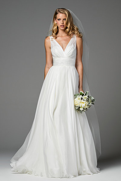 Simple Yet Stunning Wedding Dresses : Simple yet stunning wedding dresses bridalguide