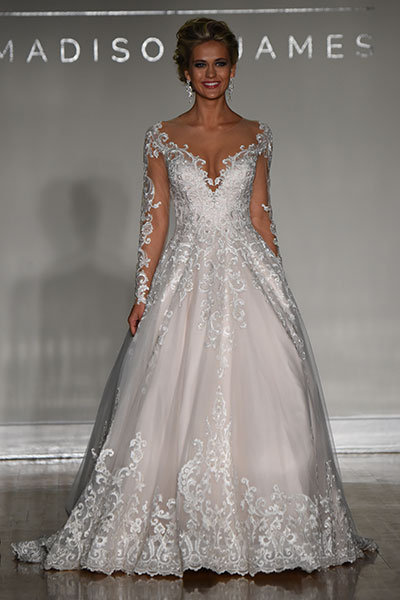 The most stunning winter wedding gowns bridalguide allure bridals 167331 wedding gown junglespirit Gallery