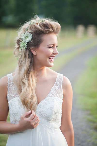 Pompadour Hairstyle For Wedding