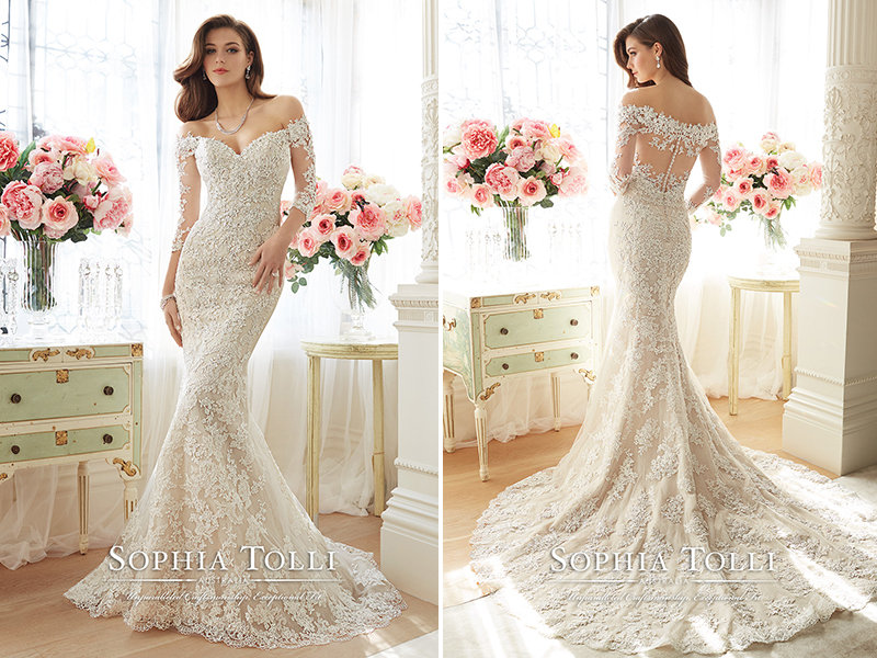 ea1a6bde073 Sophia Tolli for Mon Cheri -168381. Wedding gown ...