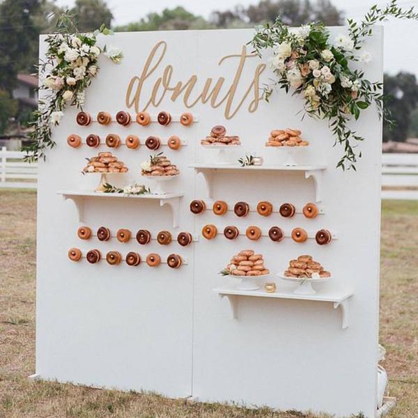 Wedding Flowers Pretoria: 25+ Doughnut Ideas Your Guests Will Go Nuts Over
