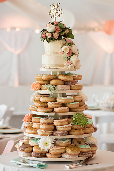 25 Doughnut Ideas Your Guests Will Go Nuts Over Bridalguide