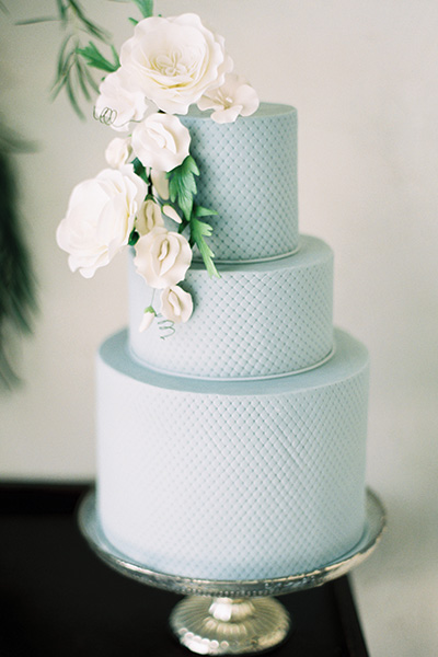 Pin-Dot Wedding Cake