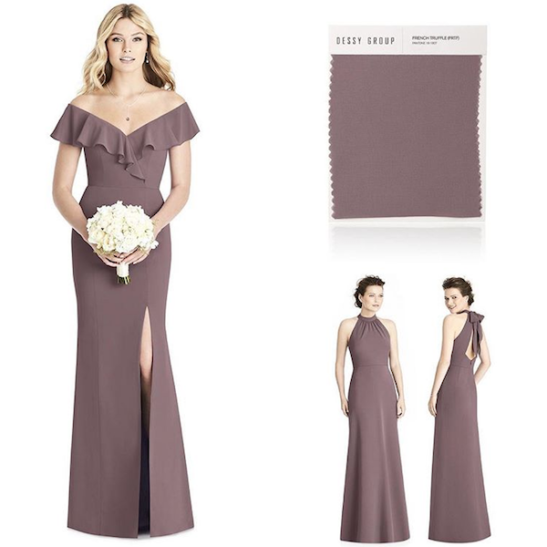 How to Match Your Bridesmaid Dresses and Wedding Colors | BridalGuide