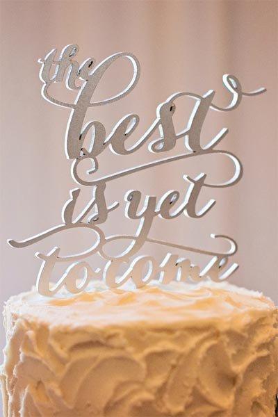 50 Creative Wedding Cake Toppers Bridalguide