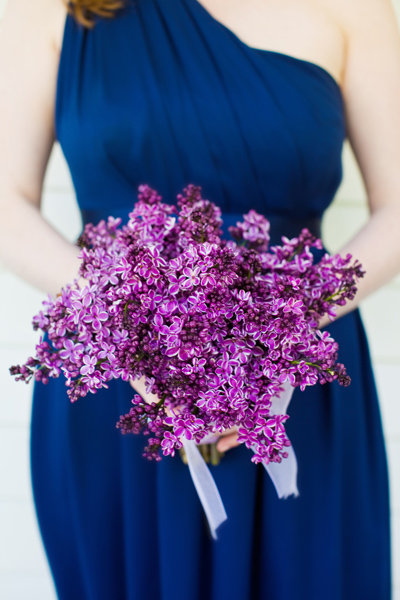 Wedding ideas by color purple bridalguide Navy purple color