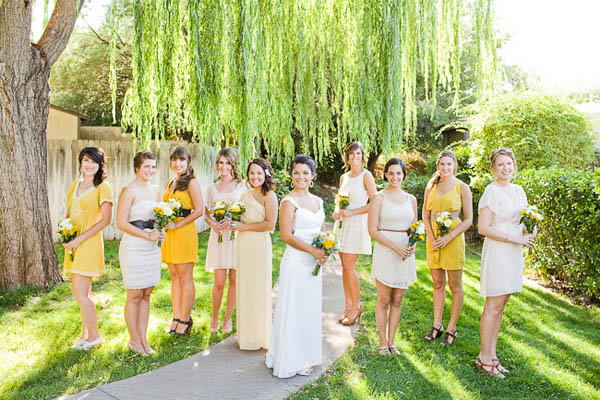 Yellow Reception Dresses 58
