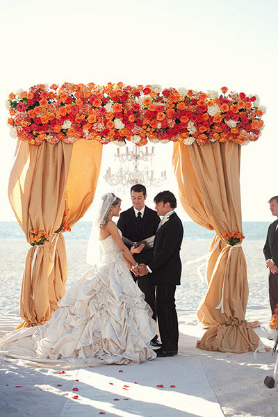 130 spectacular wedding decoration ideas bridalguide enchanting ceremony setups junglespirit Images