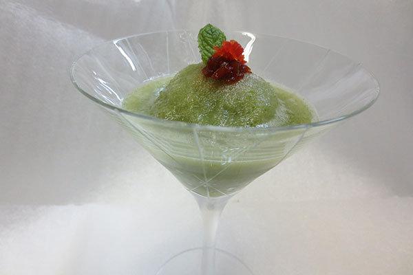 Cucumber Martini Sorbet