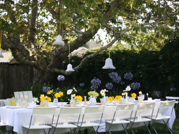 Outdoor Decorations For Wedding Shower : Inspiring bridal shower ideas bridalguide