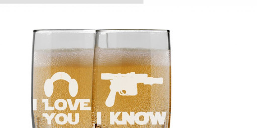 Star Wars Champagne Flutes