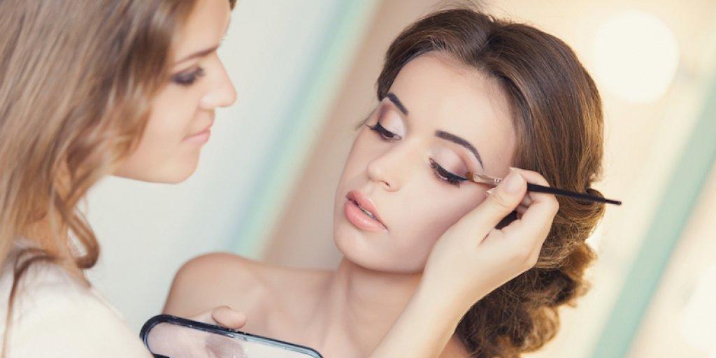 wedding day makeup look