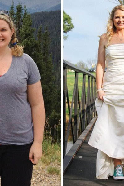 100 Pound Weight Loss Before and After