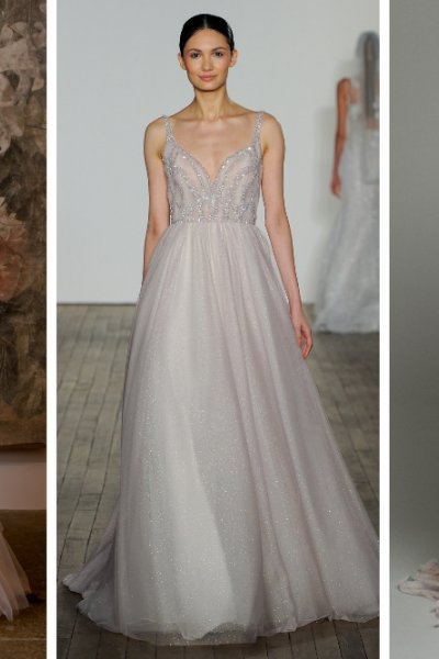Blush Bridal Gowns from NYBFW