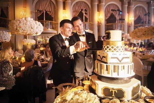 david tutera joey toth wedding
